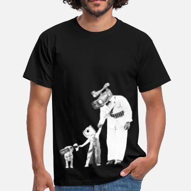 Edgy Camera-Family-Man (black) - Men's T-Shirt