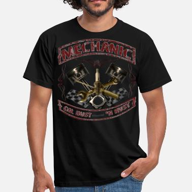 Vintage Mechanic design vintage Mechaniker Hot Rod - Männer T-Shirt