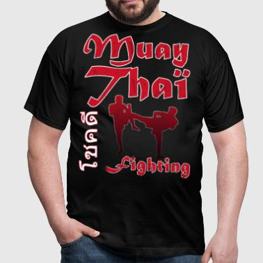 muay thai boxing mma 6.png - T-shirt Homme