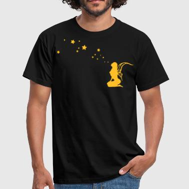 fairy, pixi, elf, star - T-shirt Homme