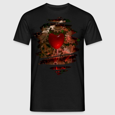 Machine Heart - Men's T-Shirt