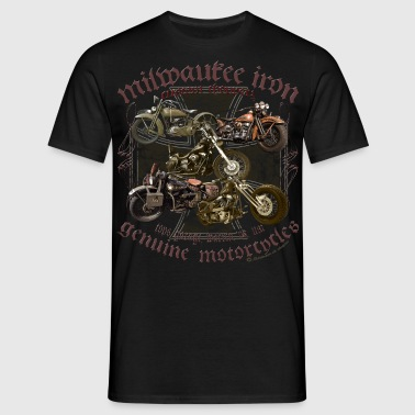Milwaukee Motorcycles Choppers Biker - Männer T-Shirt