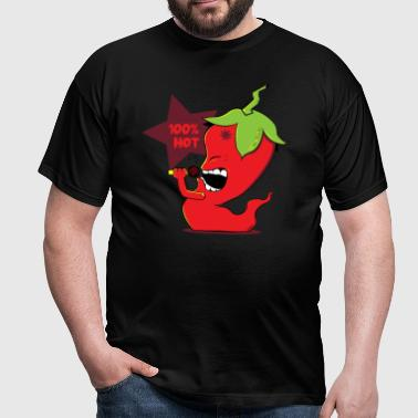 Red Chili Pepper - T-shirt Homme