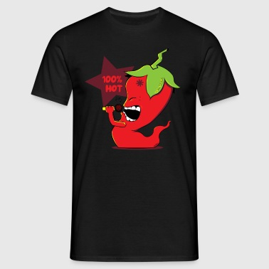 Red Chili Pepper - T-skjorte for menn