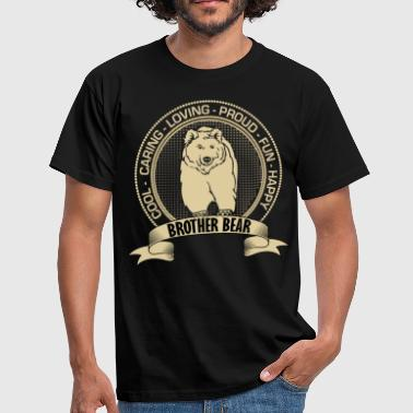 Fiercely Protective Brother Bear - Men's T-Shirt