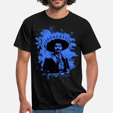 Emiliano Emiliano Zapata - bleached blue - Männer T-Shirt