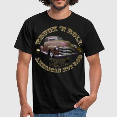 Muscle Car truck N roll american hot rod - Men's T-Shirt