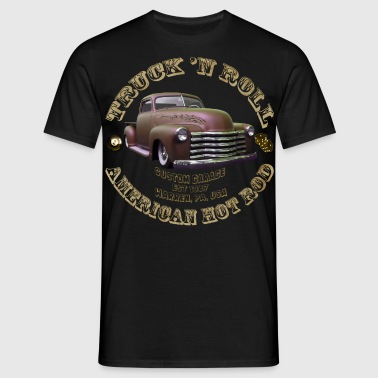 hot rod truck n roll - Männer T-Shirt