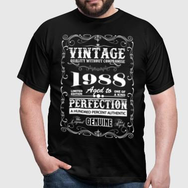 Premium Vintage 1988 Aged To Perfection - Men's T-Shirt