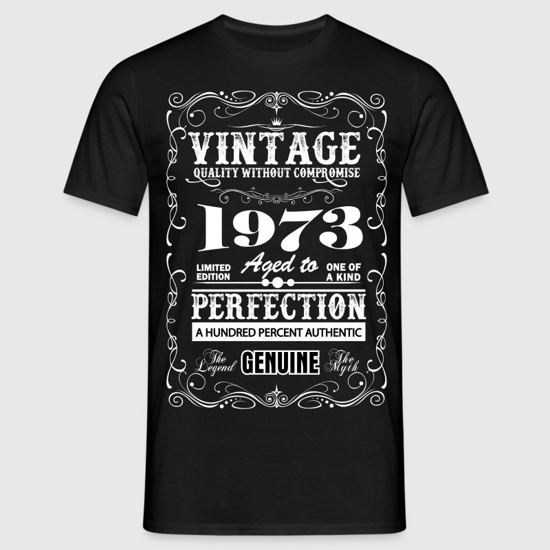 Premium Vintage 1973 Aged To Perfection - Men's T-Shirt