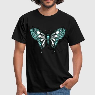 Ink Butterfly - T-shirt herr
