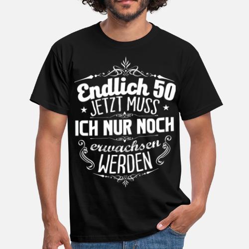 50 Geburtstag Manner T Shirt Spreadshirt