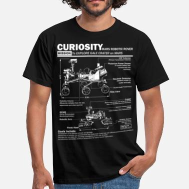 Nasa Curiosity Mars Rover - Men's T-Shirt