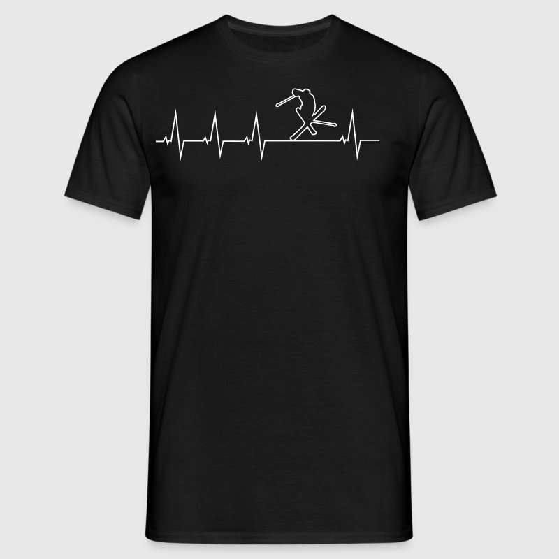 J'aime skier - T-shirt Homme