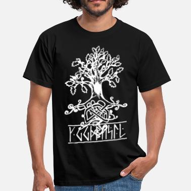 Norse Mythology yggdrasil the norse tree of life  - Men's T-Shirt