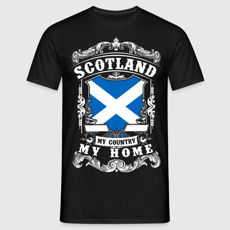 Scotland - My country - My home - Men's T-Shirt