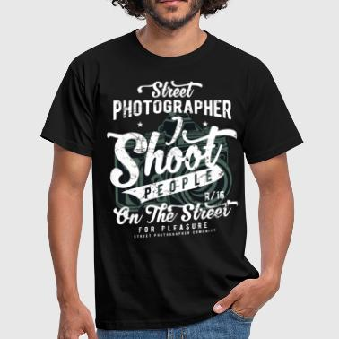 Street Photographer - T-shirt Homme