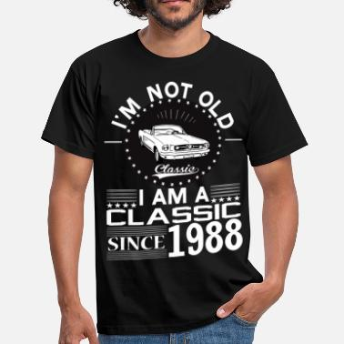 Born In 1988 Classic since 1988 - Men's T-Shirt