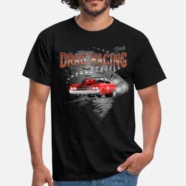 Chevrolet  Dragster / Drag Racing  Motiv mit Chevy Chevelle - Männer T-Shirt