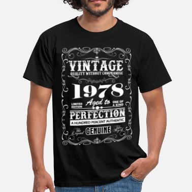1978 Premium Vintage 1978 Aged To Perfection - Men's T-Shirt