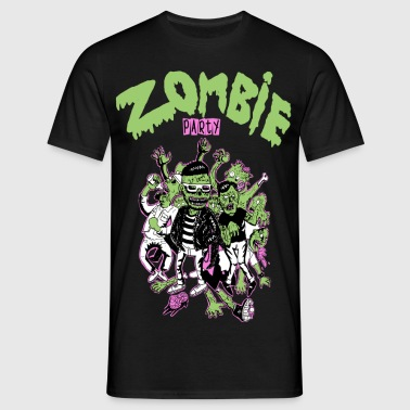 Zombie party - Men's T-Shirt
