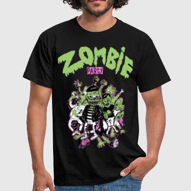 Psychobilly zombie party - T-shirt Homme