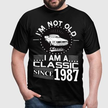 Classic since 1987 - Men's T-Shirt