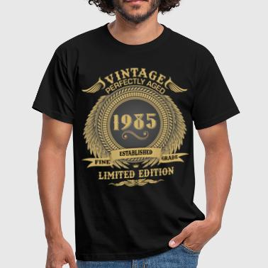 1985 Limited Edition Vintage Perfectly Aged 1985 Limited Edition - Men's T-Shirt