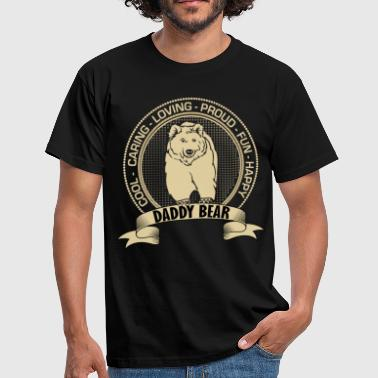 Daddy Bear Fiercely Protective Daddy Bear - Men's T-Shirt
