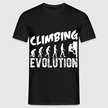 klettern Evolution - Männer T-Shirt