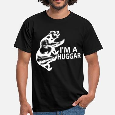 I Love Booze Shoes And Boys With Tattoos I'M A HUGGAR - Men's T-Shirt