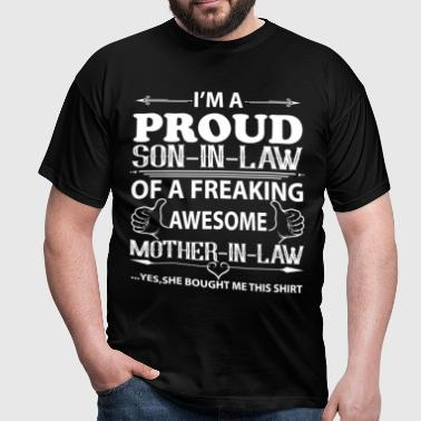 I'm Proud mother in law - Men's T-Shirt