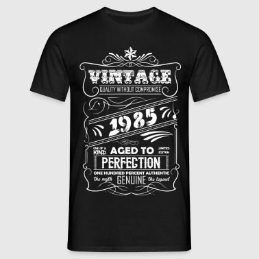 Vintage Aged To Perfection 1985 - Men's T-Shirt