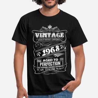 1968 Vintage Aged To Perfection 1968 - Men's T-Shirt