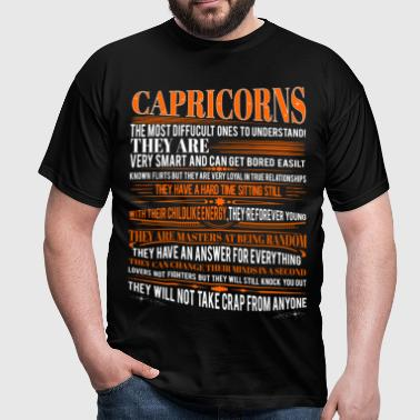 Capricorns Difficult Ones To Understand Zodiac - Men's T-Shirt