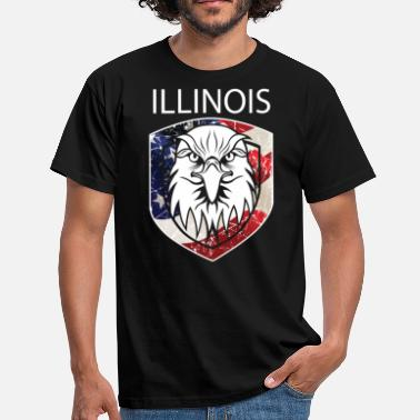 Illinois ILLINOIS - T-skjorte for menn