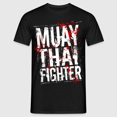 Muay Thai fighter blanc - T-shirt Homme