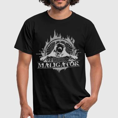 Maligator  - Belgian shepherd - Malinois  - Men's T-Shirt