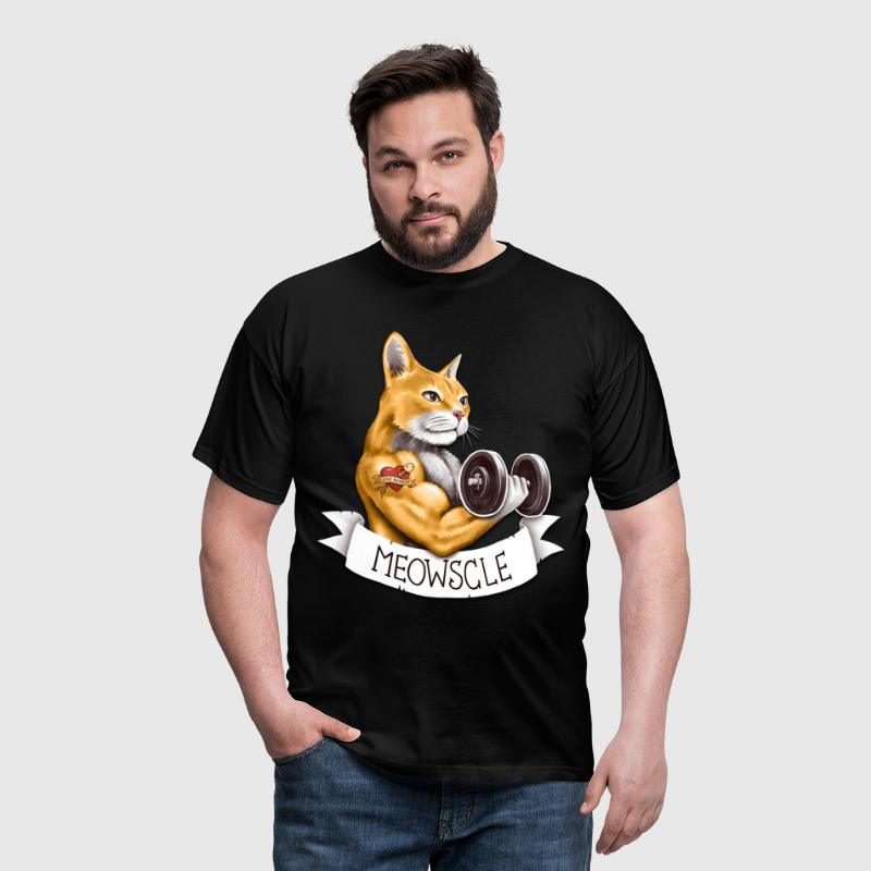 Meowscle - T-shirt Homme