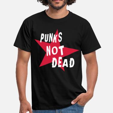 Punks Not Dead Punks Not Dead (Retro) - eushirt.com - Männer T-Shirt