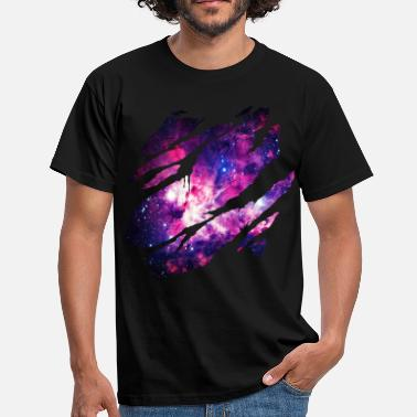 Stars Planets Deep Space Inside - Men's T-Shirt