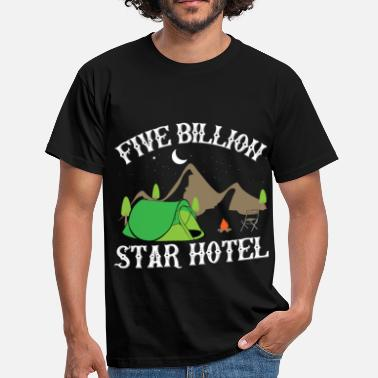 Stars 5 Billion Star Hotel - Männer T-Shirt