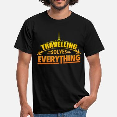 Holiday Travel vacation travel holiday vacation world trip - Men's T-Shirt