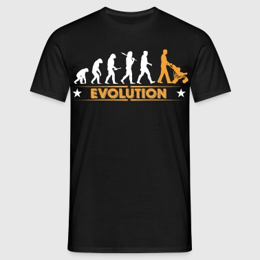Walking Dad - Evolution - Mannen T-shirt