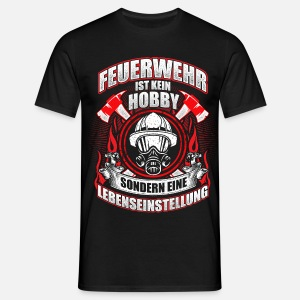 feuerwehr hobby von kaizendesigns spreadshirt. Black Bedroom Furniture Sets. Home Design Ideas