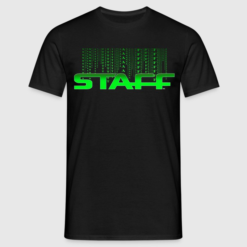 STAFF GREEN FICTION by Florian VIRIOT - T-shirt Homme