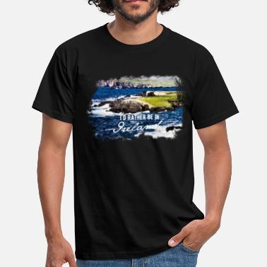 Ireland Ireland, Coast - Men's T-Shirt