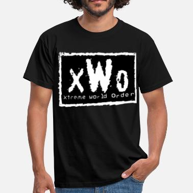 Wrestling xtreme World order - Männer T-Shirt