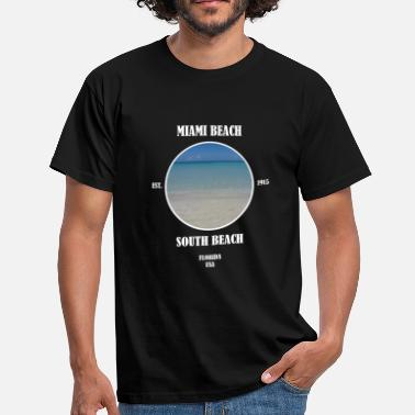 South Beach Miami Beach South Beach Florida Beach Estados Unidos - Camiseta hombre