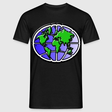 World - Herre-T-shirt